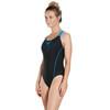 speedo Gala Logo Medalist Strój kąpielowy Kobiety niebieski/czarny